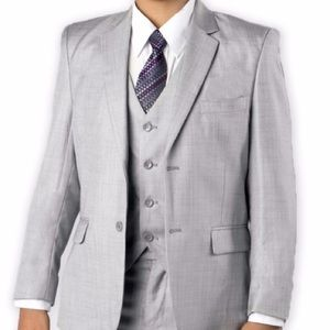 Other - Fouger light gray jacket - boys size 12